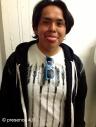 Beaded wayfarers by Candace Halcro, shirt by Topah Spoonhunter, hoodie by Alanzo Edzerza