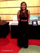 Tashina Atine, Executive Director of Miss Native American USA Pageant.