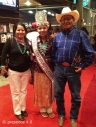 Krishel Augustine, Miss Teen Navajo, and her parents