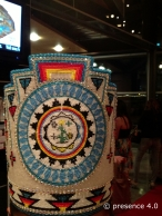 Detail, Miss Teen Navajo's beaded crown