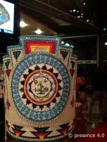Detail, Miss Teen Navajo's beaded crown