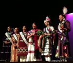 2013-2014 Miss Native American USA participants.