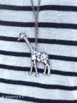 Jessica's rhinestone giraffe