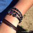 Detail of Shey's bracelets